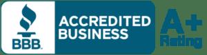 Better Business Bureau Accredited Business A+